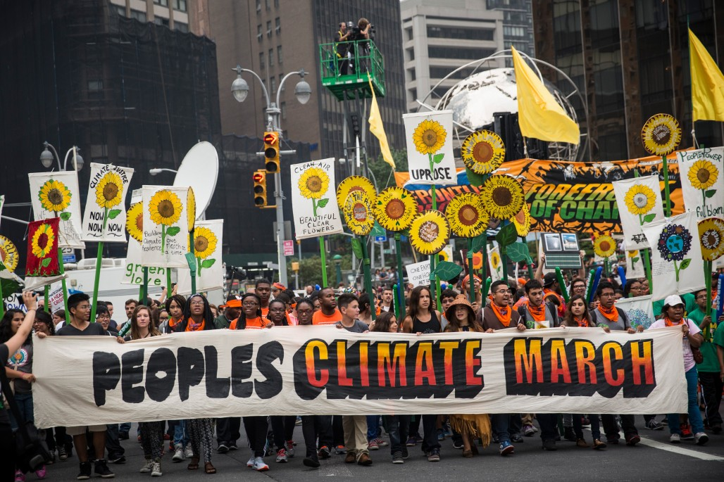 Brown, Bay Area Activists in NYC for U.N. Climate Summit
