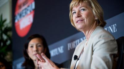 Susan Desmond-Hellmann, then-chancellor of UCSF, at a 2012 Fortune Magazine event. (Stuart Isett/Fortune)