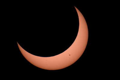 An image of a 2012 solar eclipse, taken from Arizona's Grand Canyon National Park (David McNew/Getty Images)