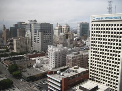 Downtown Oakland. (Craig Miller/KQED)