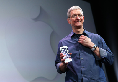 Apple CEO Tim Cook. (Justin Sullivan/Getty Images)