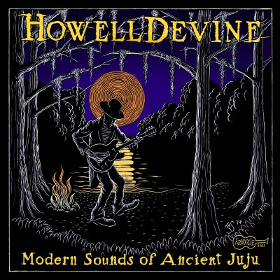 """HowellDevine's new cd """"Modern Sounds of Ancient Juju"""" (Courtesy of Arhoolie Records)"""