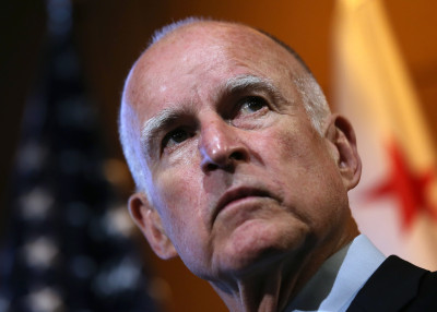 Gov. Jerry Brown. (Justin Sullivan/Getty Images)