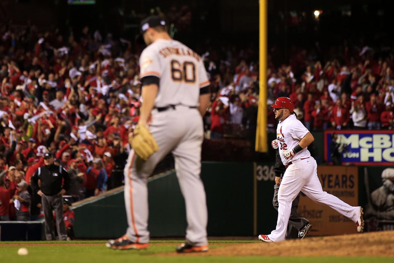 Matt Adams hits homer