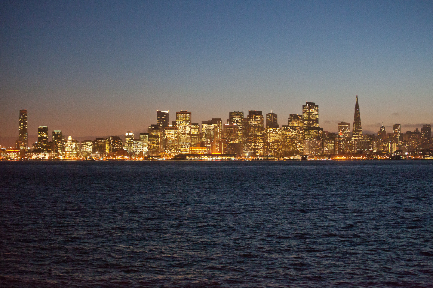 The San Francisco skyline. Two of the city's supervisors are facing off to be the next representative for the state Assembly's 17th district. (Deborah Svoboda/KQED)