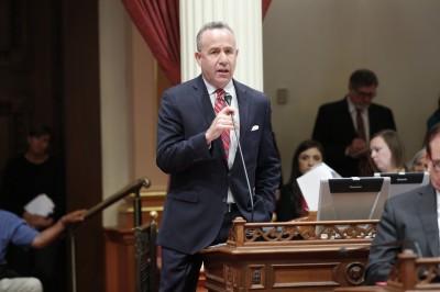 State Senate President pro Tem Darrell Steinberg. (Lorrie Shelley/California State Senate)