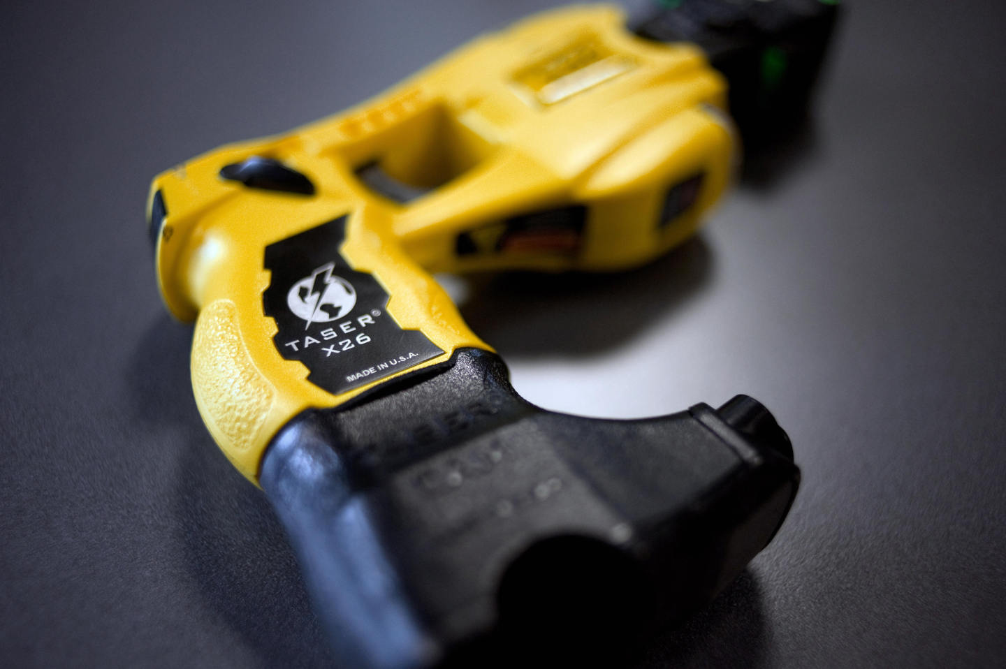 A Taser X26. (Fred Dufour/AFP/Getty Images)