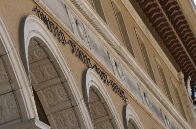 The historic U.S. Post Office in downtown Berkeley. (Darius Wekwerth/Berkeleyside)
