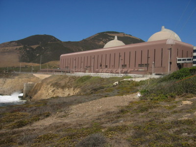 Activists question whether Diablo Canyon can withstand a major earthquake. (Craig Miller/KQED)