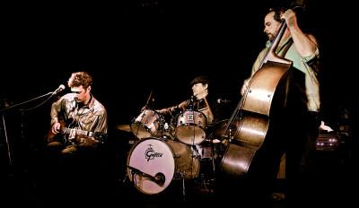 Bay Area blues trio HowellDevine. (Photo by Arash Hoda)