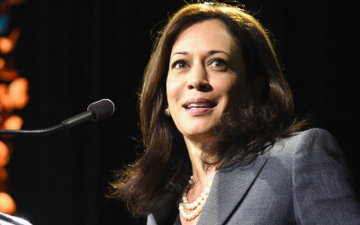 California Attorney General Kamala Harris during her 2014 campaign.
