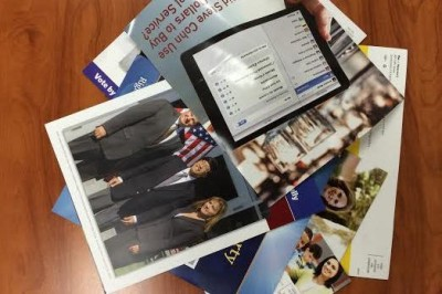 Direct mail ads will flood California voters' mailboxes this month. (Scott Detrow/KQED)