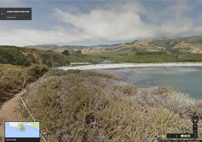 Andrew Molera State Park, in Big Sur, via Google Street View.
