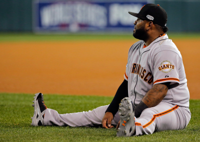 Pablo Sandoval. (Doug Pensinger/Getty Images)