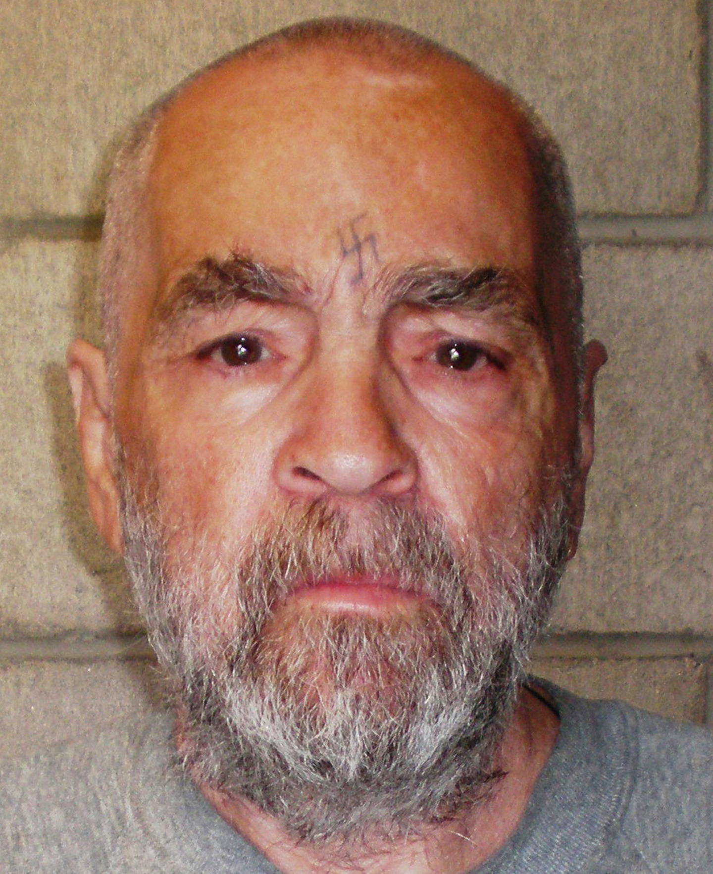 Charles Manson in 2009 photograph released by the California Department of Corrections and Rehabilitation. (Getty Images)