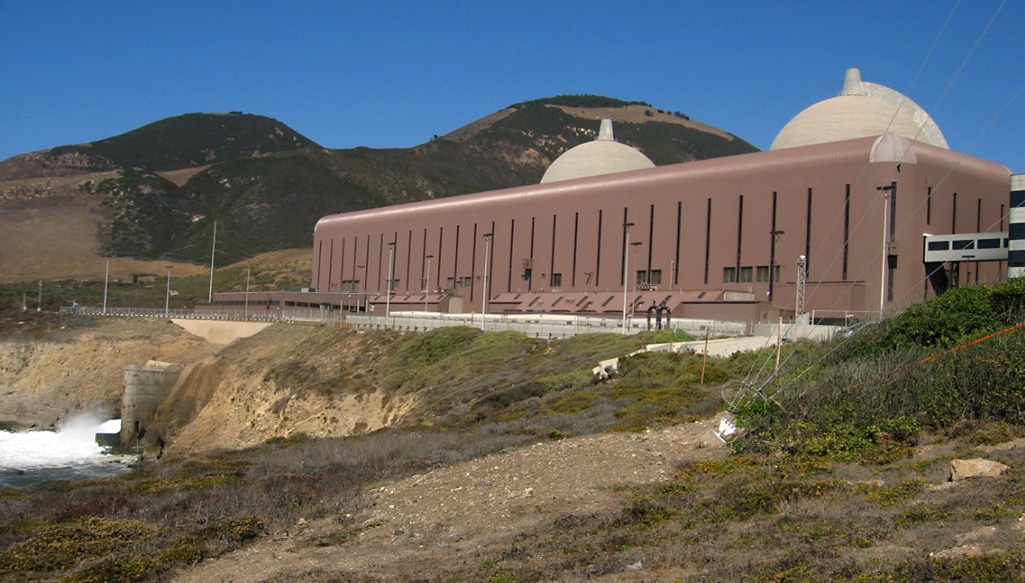 The Diablo Canyon Nuclear Power Plant. (Craig Miller/KQED)