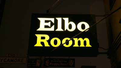 The sign for San Francisco's Elbo Room (Photo by Kevin L. Jones)