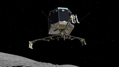 A rendering of the Philae Lander.