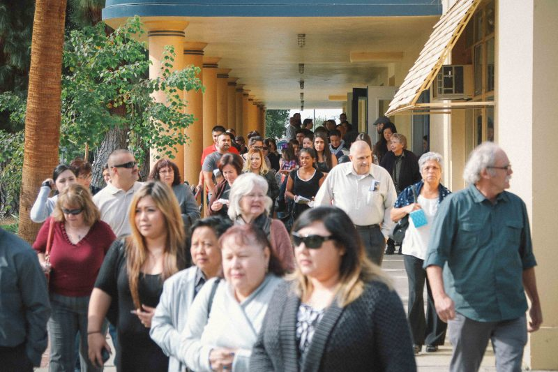 Mourners honored DeAnda at a memorial service at Delano High School on Sunday, Nov. 16. Her nephew read a letter from Governor Brown commending her tireless advocacy.
