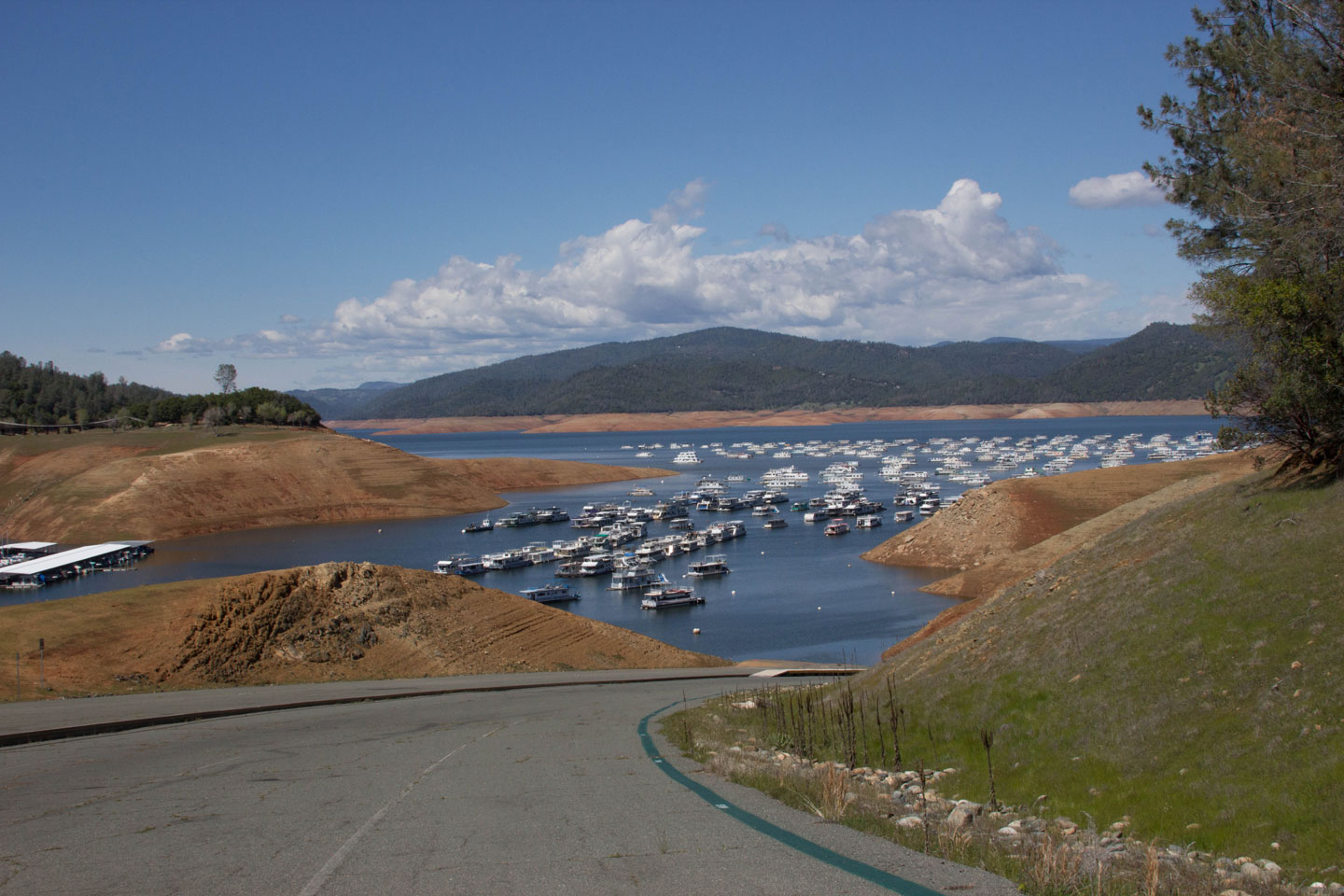 Drought Photos: See Lake Oroville Fall Near Historic Low