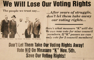 save voting rights