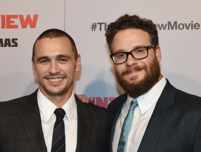 """The Interview"" stars James Franco and Seth Rogen. (Getty Images)"