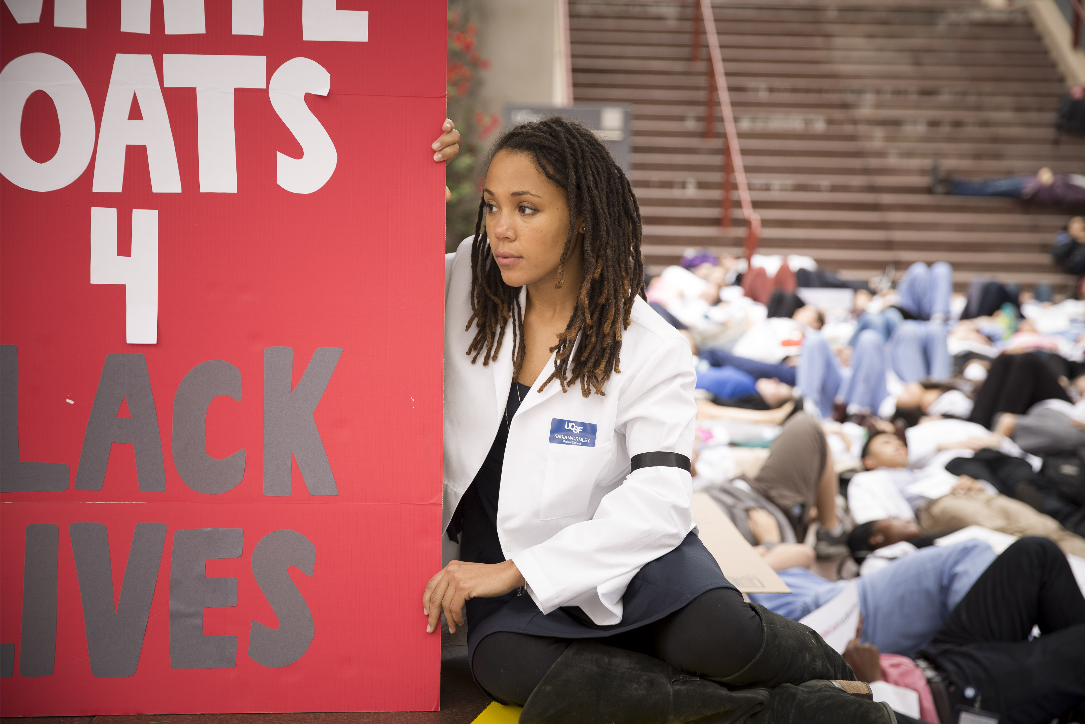 With 'Die-In,' UCSF Medical Students Urge Doctors To Fight