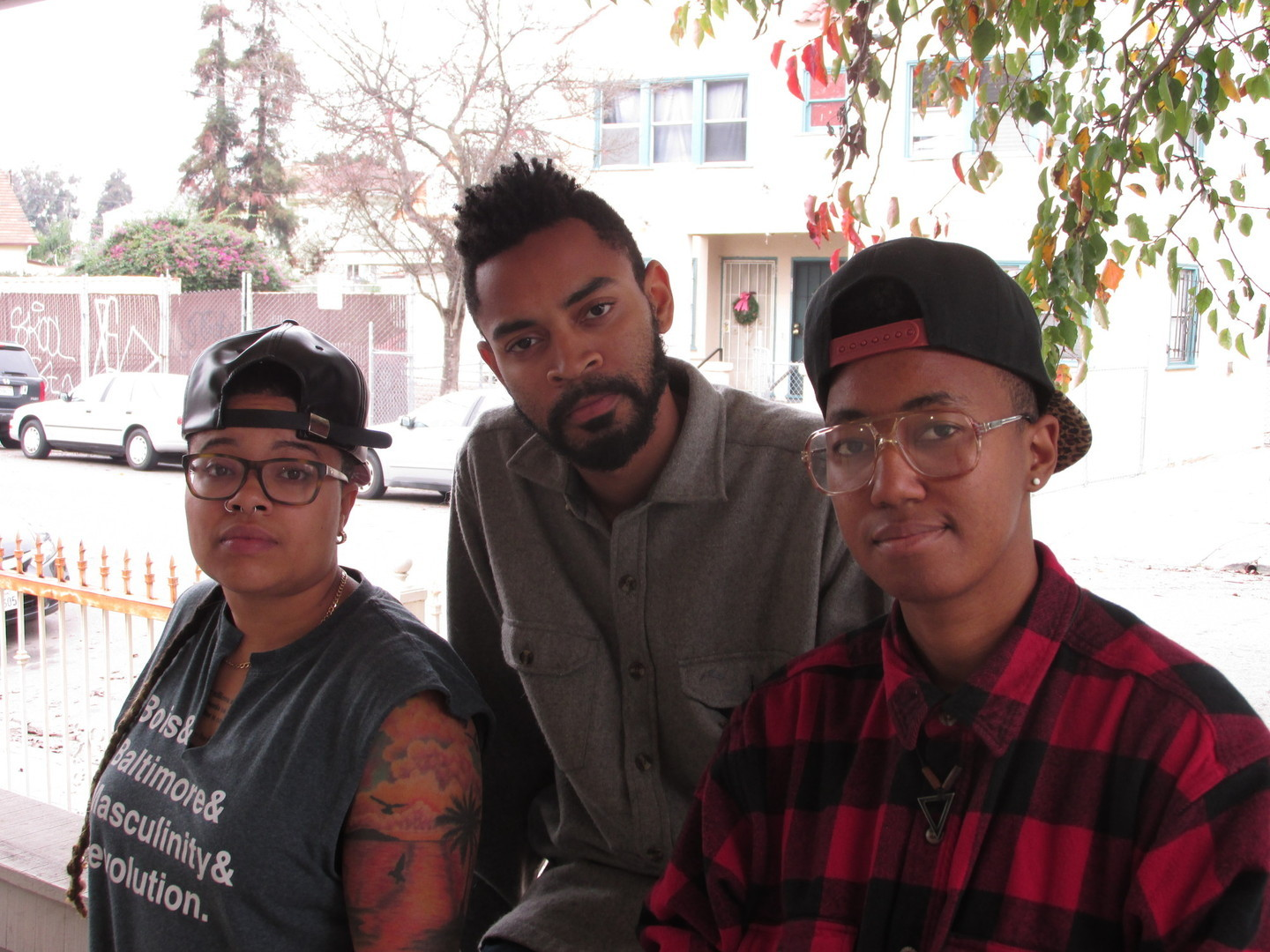 Wazi Maret Davis, Zachary Murray and Wild Tigers created Black Brunch in Oakland. (Adizah Eghan/KQED)