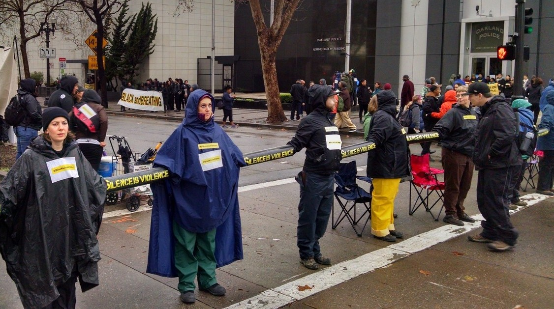 Oakland Police-Protest