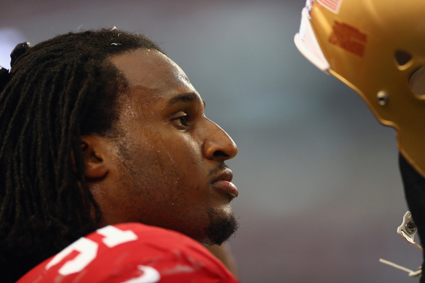 Ray McDonald at AT&T Stadium in Arlington, Texas on on Sept. 7.
