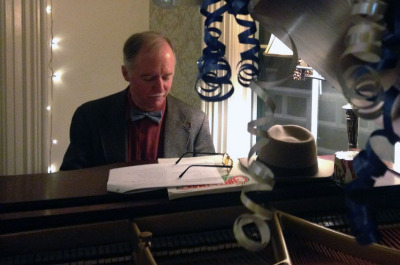Tom Bopp has been playing piano at the Wawona for over 30 years.