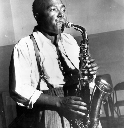 Charlie Parker at the February 19, 1947, session.