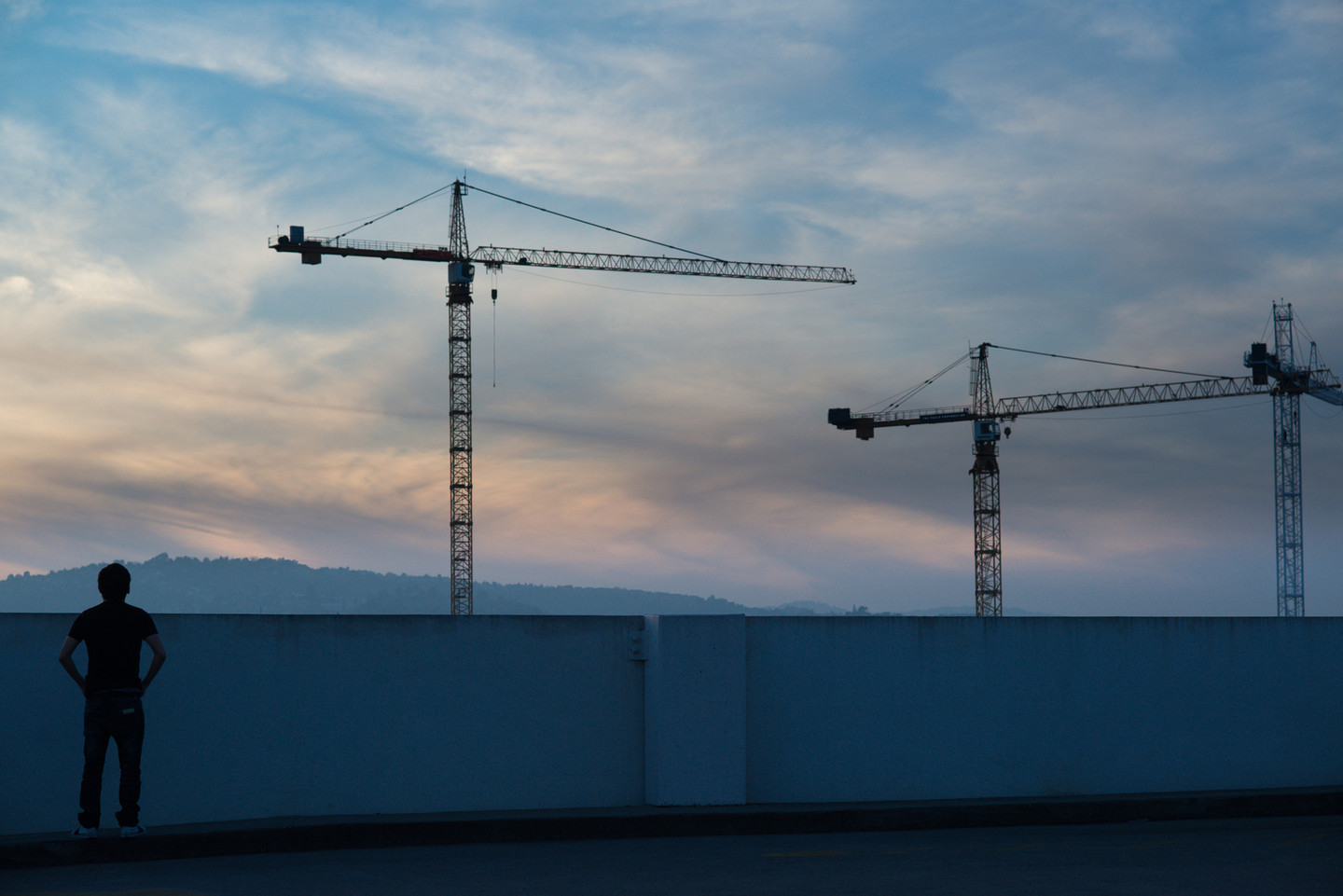 The latest tech boom is remaking downtown Redwood City. (James Tenusan/KQED)