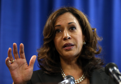 Attorney General Kamala Harris launches her bid for the U.S. Senate in 2016.