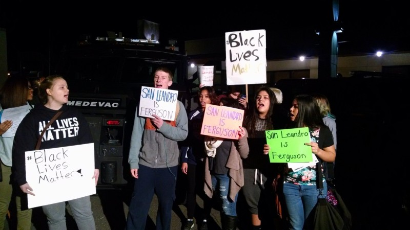Local High School students said they don't want San Leandro to turn out like Ferguson, MO.