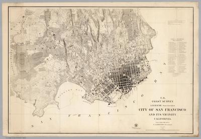 San Francisco in 1857