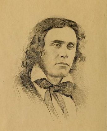 Richard Henry Dana as he appeared shortly after his account of sailing to California, Two Years Before the Mast, was published. (Library of Congress)