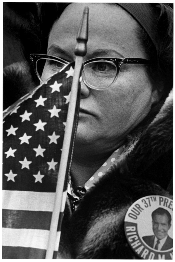 Nixon rally, inauguration, 1973.