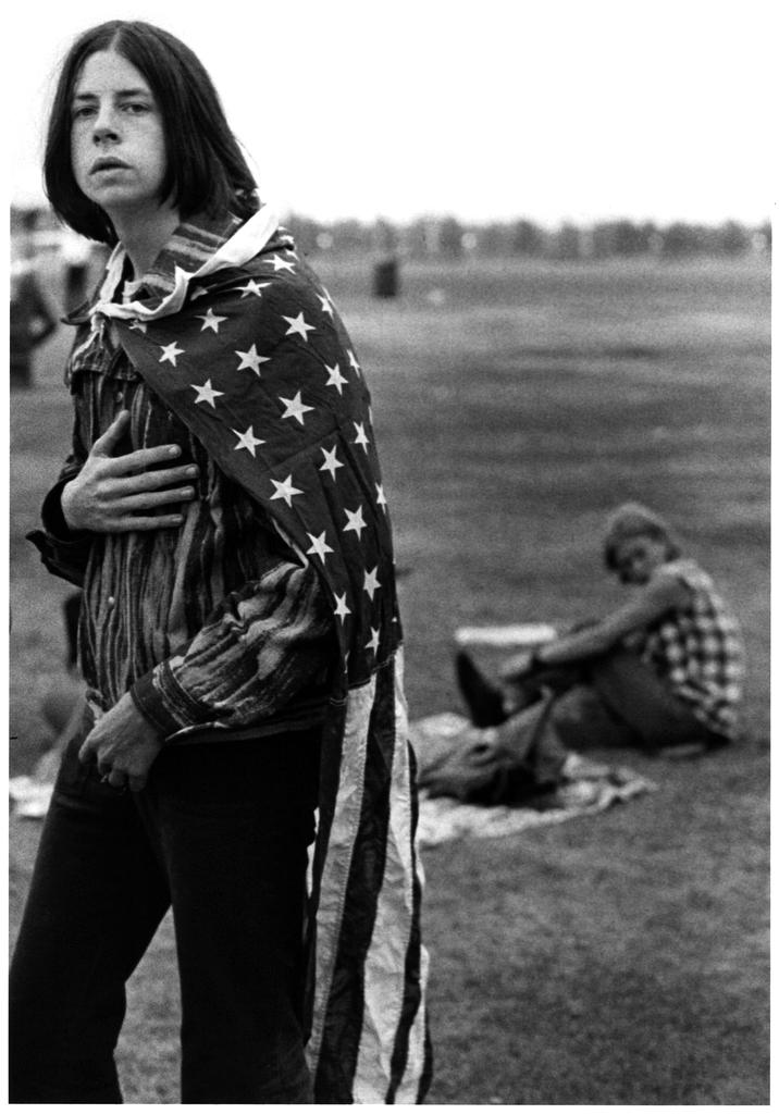 Free concert, Athens, Ohio, 1969.