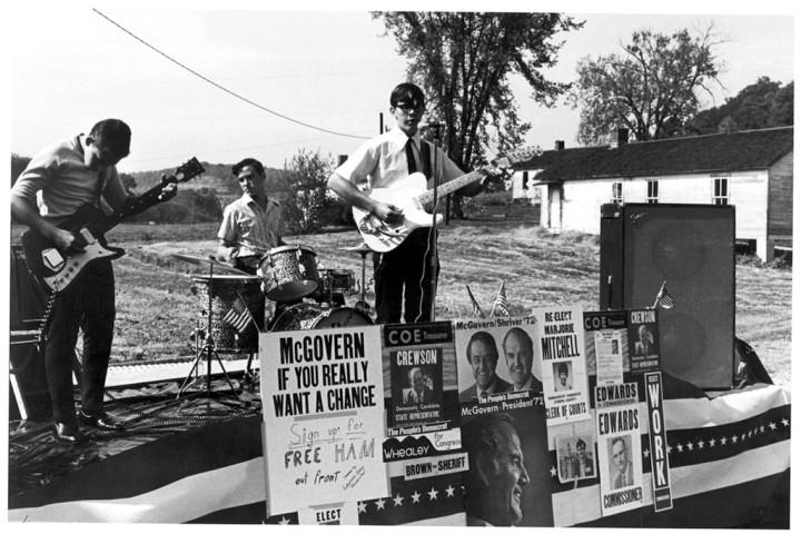 McGovern rally, S.E. Ohio, 1972.