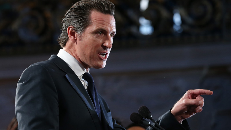 Image result for gavin newsom 2018