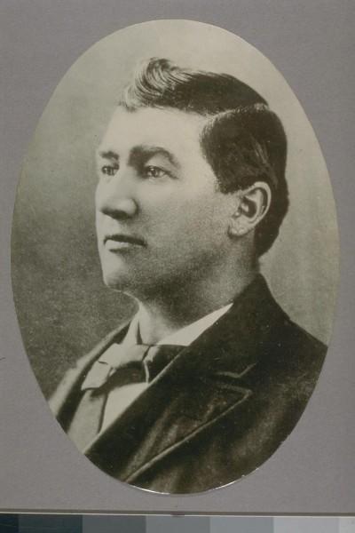 Denis Kearney, Irish immigrant, street orator and leader of the Workingmen's Party of California.