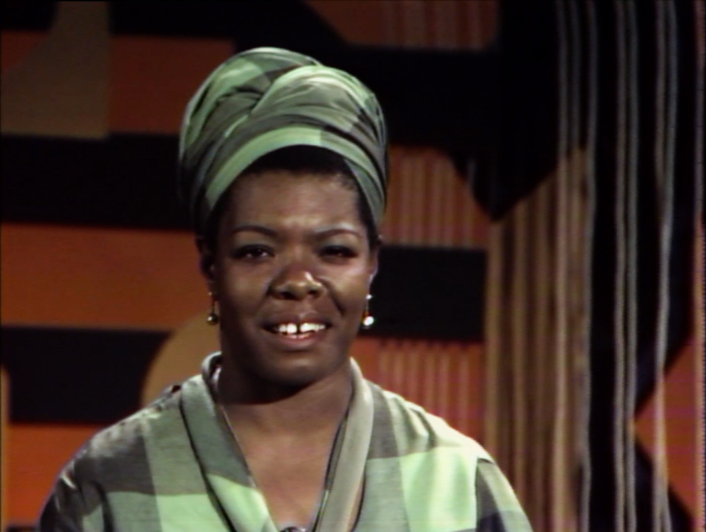 From the Archive: Maya Angelou Hosts 1968 Series 'Blacks, Blues, Black!'