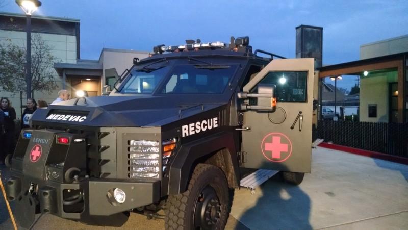 California Cities Debate Militarization of Local Police