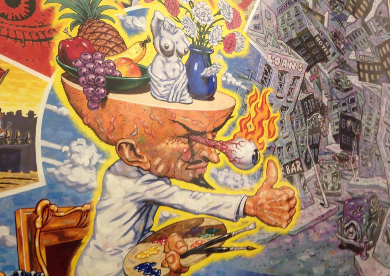 The Glorious Profane Spoils Of Robert Williams  Year War With Mainstream Art