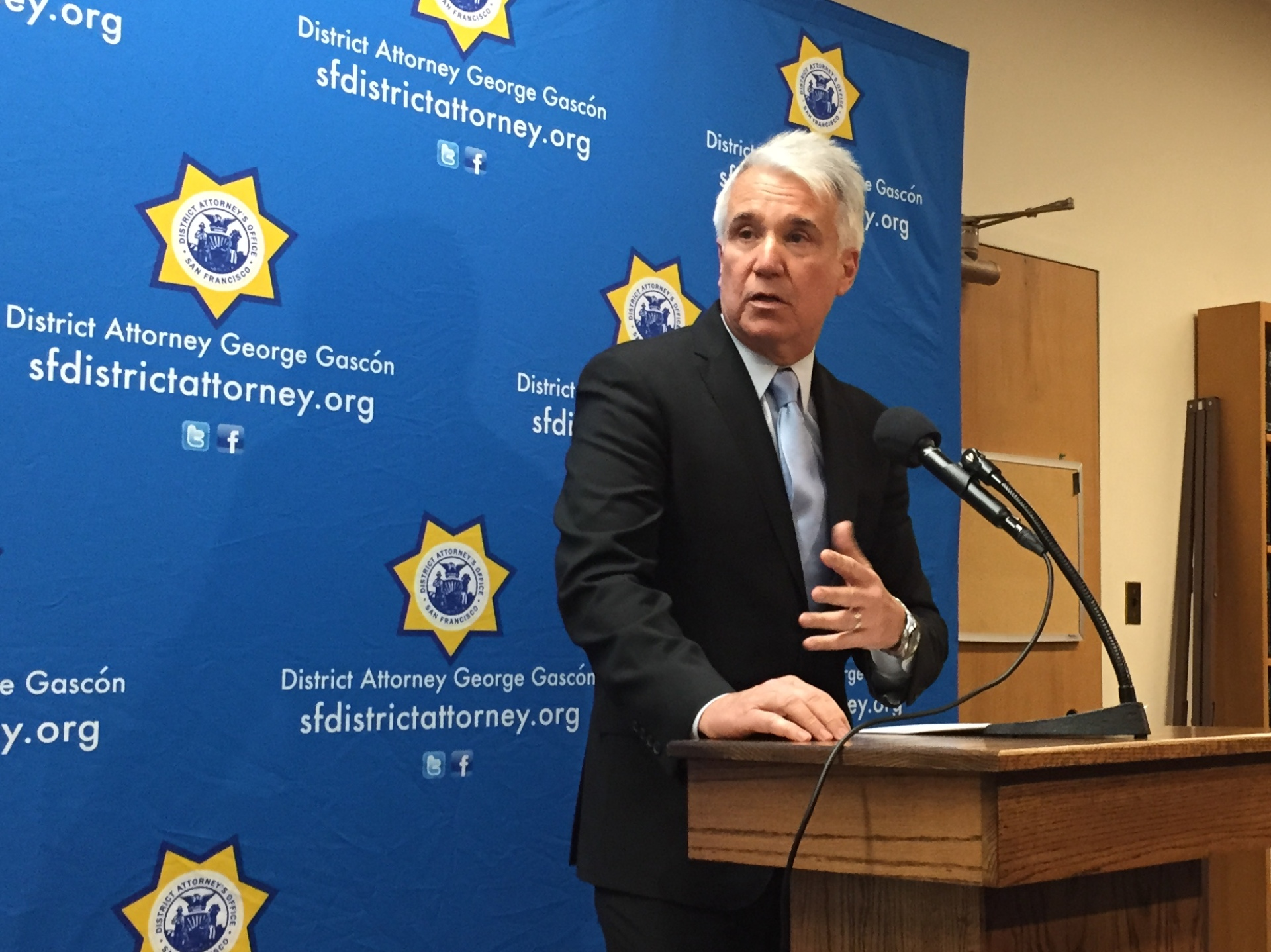 San Francisco District Attorney George Gascón says his office will conduct independent investigations into multiple scandals involving San Francisco law enforcement agencies.