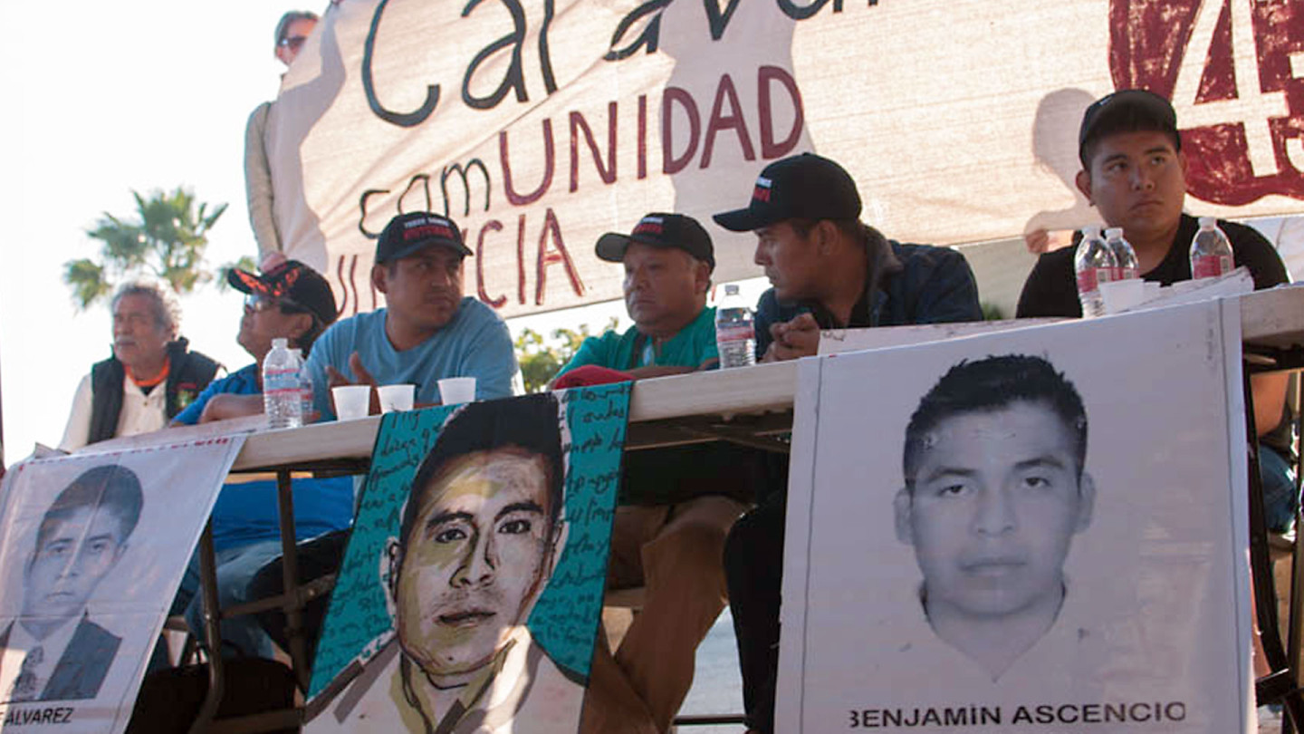 Friends and Families of Disappeared Mexican Students Get Message Out in U.S. Tour