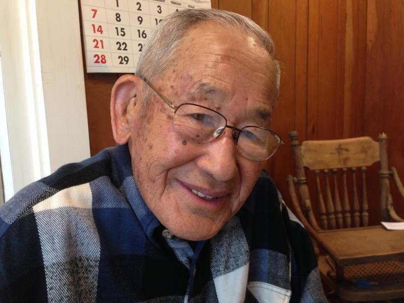 "At 92, Jimi Yamaichi remembers row crop farming in Berryessa before World War II. ""It was hard living."""