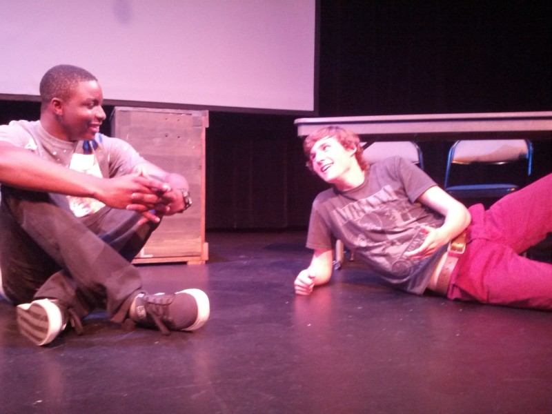 "Jamey Williams from Richmond High School and Nick Ogden from Marin Academy play each other in ""Bridging the Bridge."""
