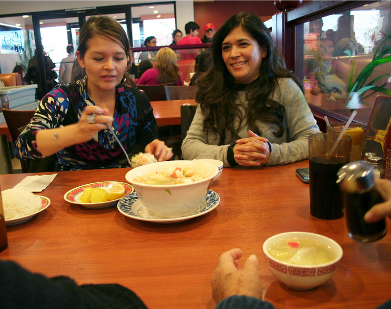 The Salcedo family drives over an hour to Fortune Garden restaurant from Yuma, Arizona twice a month just to eat there.